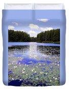 Monet's Prelude Duvet Cover