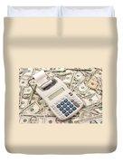 Money Duvet Cover