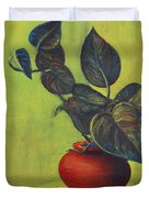 Money Plant - Still Life Duvet Cover