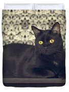 Mongo The Robust Cat Duvet Cover