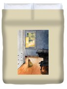 Monhegan Kitchen Duvet Cover