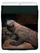 Monitor Lizard Duvet Cover