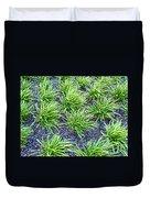 Monkey Grass Abstract Duvet Cover