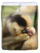 Monkey Mother Duvet Cover
