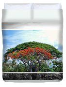 Monkey Pod Trees - Kona Hawaii Duvet Cover