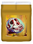 Monkey Skull Duvet Cover