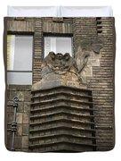 Monkeys And Elephant Amsterdam Duvet Cover