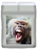 Monkey's Smile Duvet Cover
