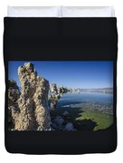 Mono Lake Tufas 3 Duvet Cover