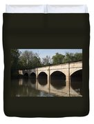 Monocacy Aqueduct On The C And O Canal In Maryland Duvet Cover