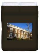Monroe Hall University Of Virginia Duvet Cover