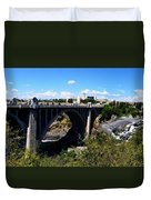 Monroe Street Bridge - Spokane Duvet Cover