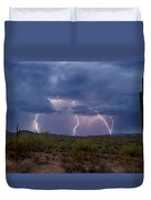 Monsoon Madness Strikes  Duvet Cover
