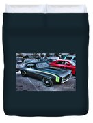 Monster Camaro Duvet Cover