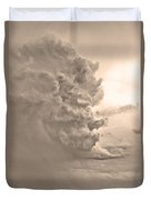 Monster Cloud Sepia Country Duvet Cover