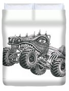 Monster Truck Duvet Cover