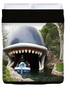 Monstro The Whale Boat Ride At Disneyland Duvet Cover