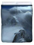 Mont Blanc Storm Duvet Cover