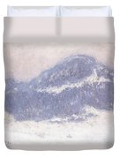 Mont Kolsaas Duvet Cover by Claude Monet