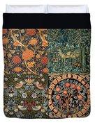 Montage Of Morris Designs Duvet Cover