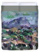 Montagne Sainte-victoire Duvet Cover