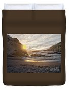 Montana De Oro Sunset II Duvet Cover