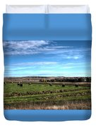 Montana Hayfield Duvet Cover