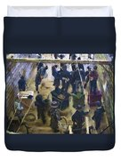 Montana Justice   January 14 1864 Duvet Cover