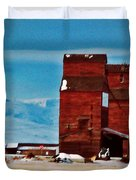 Montana Mountaintown Duvet Cover