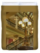 Montana State Capitol Duvet Cover