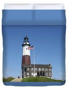 Montauk Lighthouse Duvet Cover