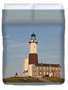 Montauk Point Lighthouse Duvet Cover