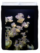 Monterey Aquarium Jellyfish Duvet Cover