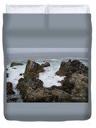 Monterey Bay - California Duvet Cover