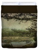 Monterey Bay - The Other Side Duvet Cover