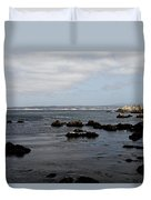 Monterey Bay View Duvet Cover