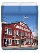 Monterey Cannery Row California 5d25045 Duvet Cover