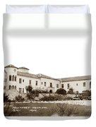 Monterey  Hospital At 576 Hartnell Street Circa 1939 Duvet Cover