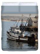 Monterey Fish Company Duvet Cover