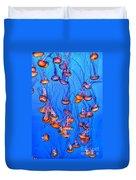 Monterey Jellies  Duvet Cover