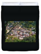 Monterosso From Above - Cinque Terre Duvet Cover