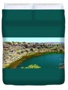 Montezuma Well  Duvet Cover