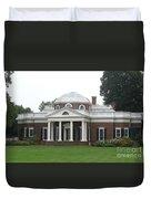 Monticello - Thomas Jeffersons Home Duvet Cover