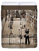 Montmartre Moment Duvet Cover
