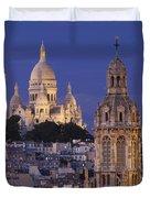 Montmartre Twilight Duvet Cover