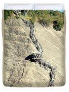 Montmorency Falls Stairway Duvet Cover