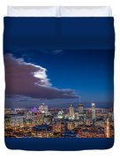 Montreal By Night Duvet Cover