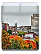 Montreal City Colors Duvet Cover