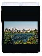 Montreal - Sur Le Fleuve  Duvet Cover