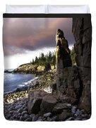 Monument Cove Sunrise 4984 Duvet Cover